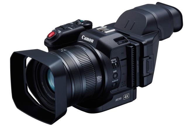 Canon از دوربین XC10 4K رونمایی کرد