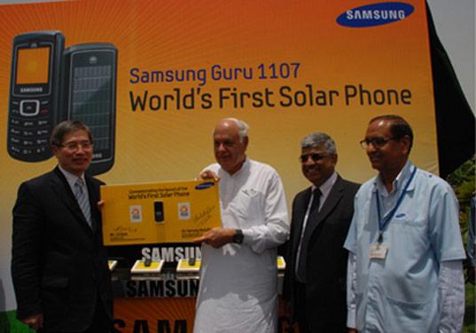 آیا میدانید اولین تلفن همراه خورشیدی را سامسونگ ساخته؟