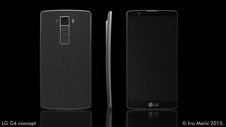 طرح مفهومی بسیار جذاب از تلفن هوشمند LG G4