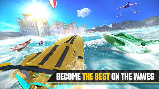 معرفی و دانلود بازی قایق سواری سرعتی Driver Speedboat Paradise برای iOS