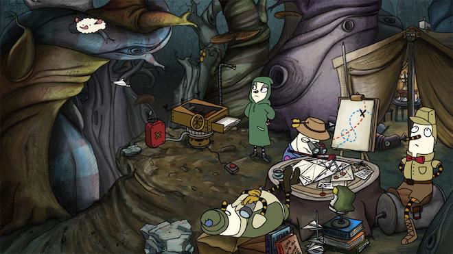 نقد و بررسی بازی زیبا و متفاوت The Inner World برای اندروید و ios