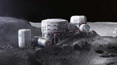 زندگی انسان در ماه