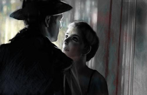 Film Noir: معرفی 30 اثر هنری دیجیتال از سینمای تاریکی