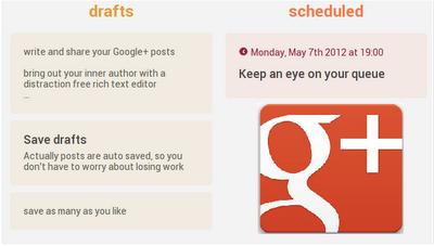 برنامه ریزی اشتراک پست در گوگل+