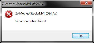 روش حل خطای Server Execution Failed در ویندوز مدیا پلیر