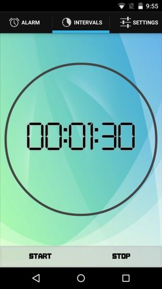 02Wave Alarm interval - آلارم تلفن همراه خود را با تکان دادن قطع کنید...