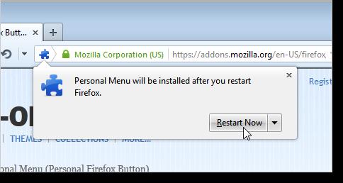 03_clicking_restart_now_personal_menu