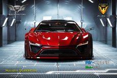 فونیکس؛ اولین ماشین سوپر اسپرت ایرانی آماده رقابت با بوگاتی
