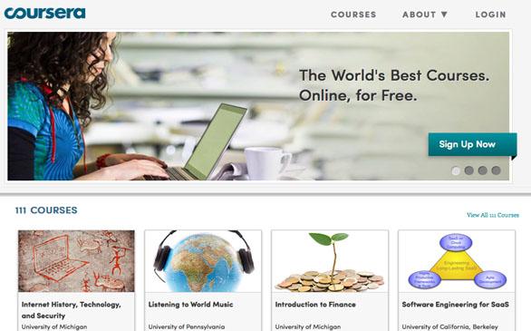 از آموزش آنلاین چه میآموزیم، سایت آموزش آنلاینCoursera