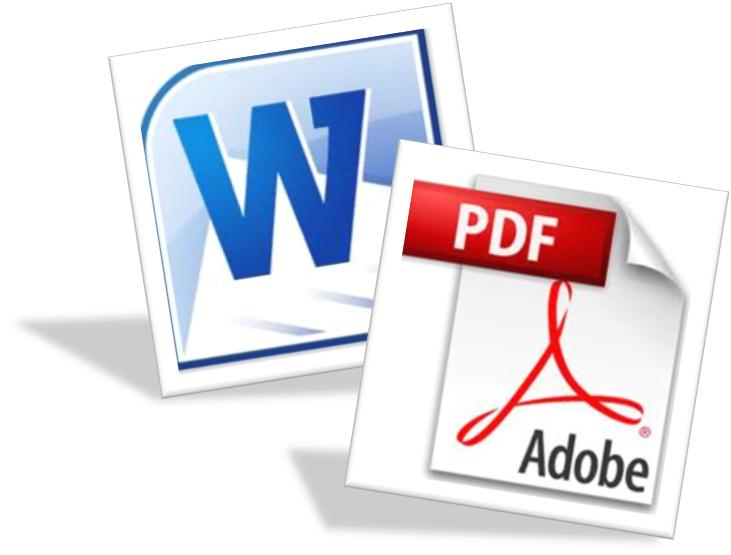 آموزش تبدیل فایل word به pdf با نرم افزارهای مختلف
