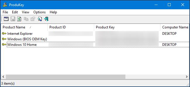 چگونه  Product Key نرمافزارها را حتی از کامپیوترهای خراب بازیابی کنیم؟