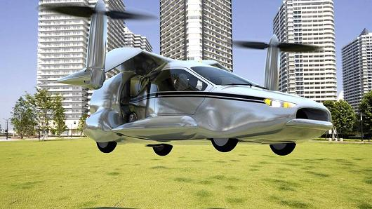 uber flying car