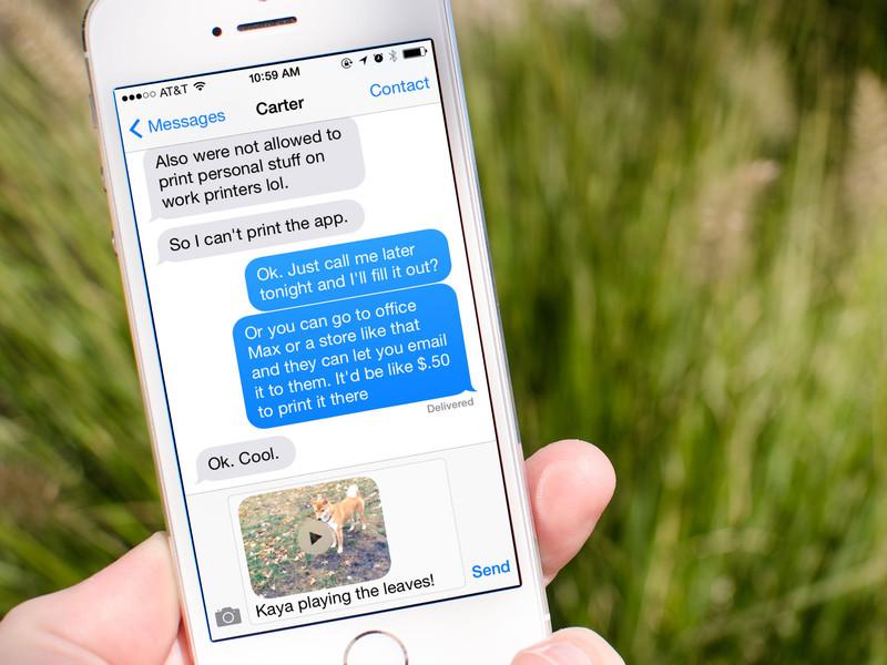 راهنمای iOS: حل مشکل ارسال نشدن پیامها در iMessage