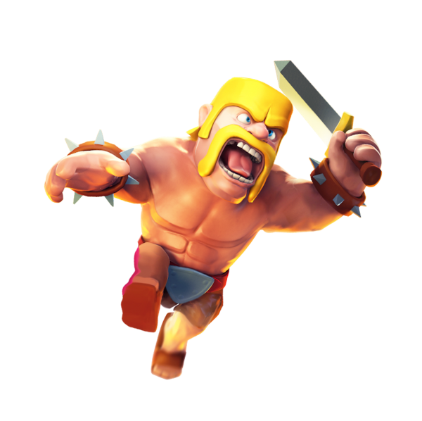 ۱۰۸۴۳۴-clash-of-clans-barbarian-levels