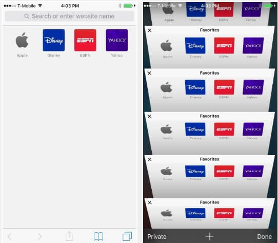 10You Can Open Unlimited Safari Tabs