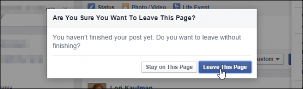 Leave This Page