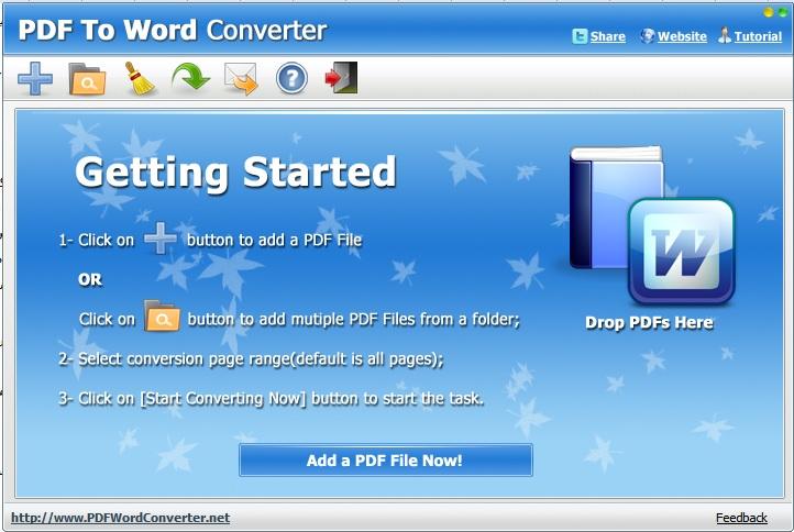 تبدیل فایل های PDF به WORD با یک برنامه رایگان !!!