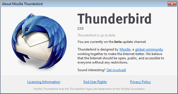 نگاهی به نسخه 13 نرم افزار مدیریت ایمیل تاندربرد