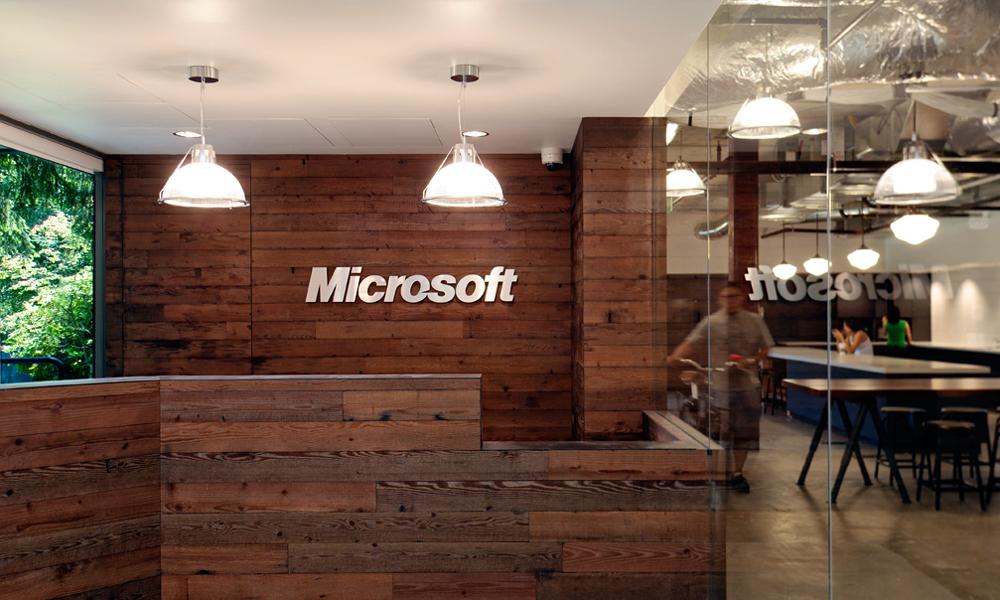 با هم ببینیم : طراحی داخلی ساختمان 4 شرکت مایکروسافت