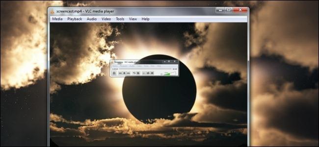 ضبط صفحه نمایش به کمک VLC