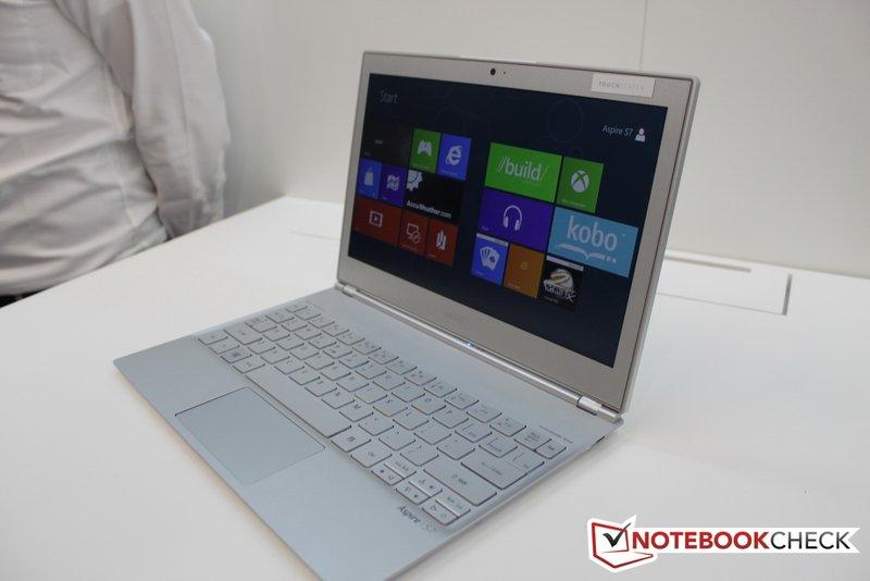 اولترابوک لمسی Acer Aspire S7 یک ماه دیگر به بازار می آید