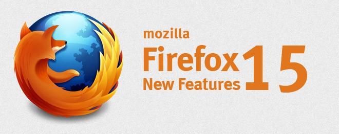 ویژگی های Firefox 15، بازی BrowserQuest و امکاناتی برای طراحان وب