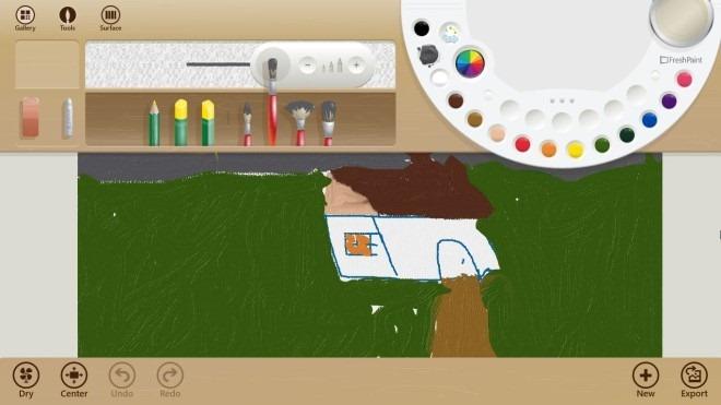 نگاهی به برنامه Fresh Paint