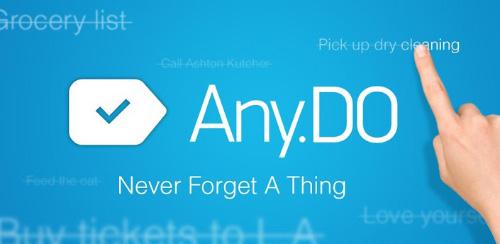 مدیریت کارها در تمامی دستگاه ها با Any.DO