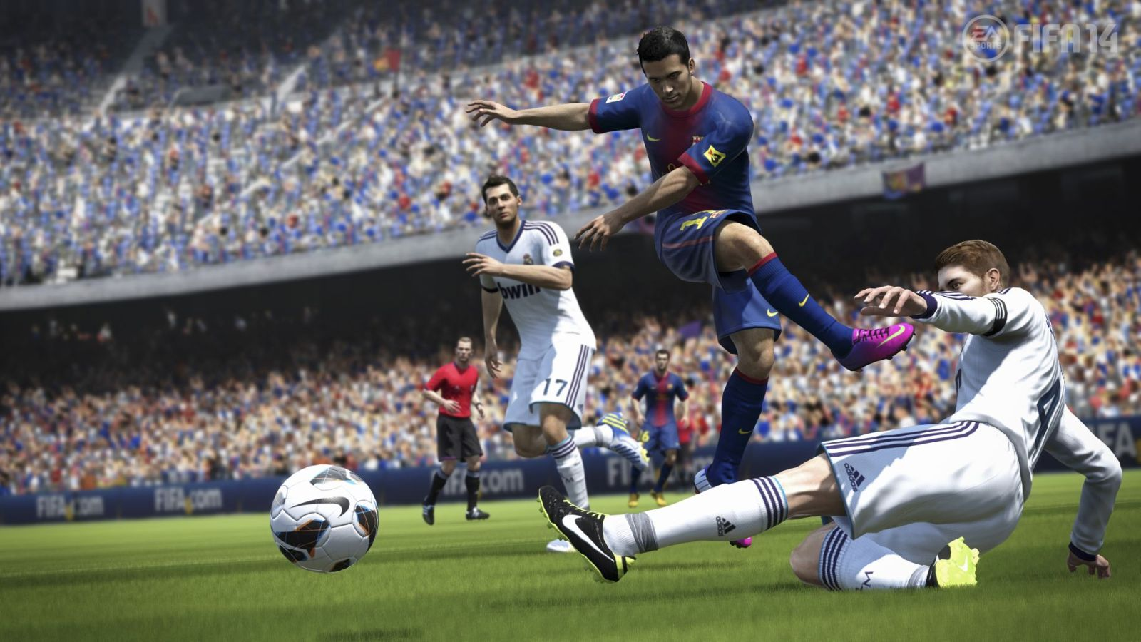 اولین تصاویر رسمی از بازی FIFA 2014
