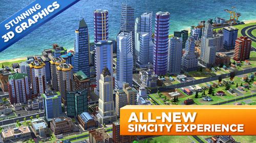 معرفی بازی SimCity BuildIt