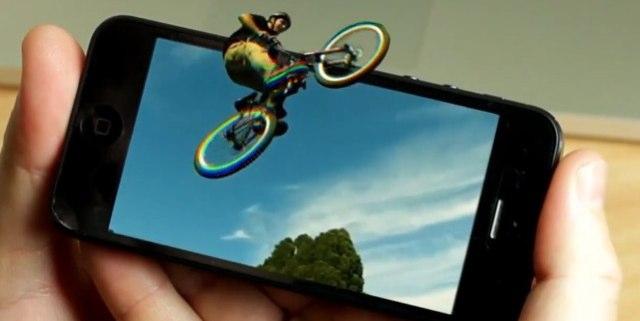 """با فناوری """"Eye Fly 3D"""" ؛ بدون عینک مخصوص روی آیفون ؛ آیپد و نکسوس 7 تصاویر 3D را تماشا کنید !"""