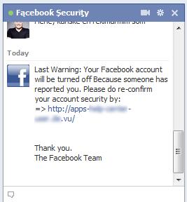 هشدار ! مراقب چت باکس فیسبوک باشید