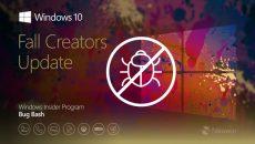 باگ به روزرسانی پاییزی جدید ویندوز 10