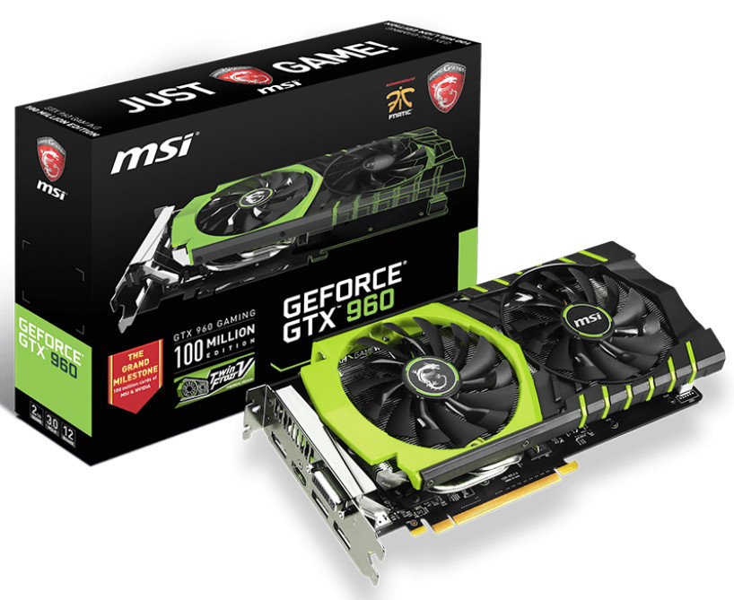 MSI از نسخه Limited Edition دو کارت گرافیک GeForce GTX 970 و 960 رونمایی کرد