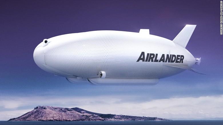 غول پیکرترین کشتی هوایی دنیا ساخته می شود