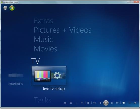آموزش تصویری تنظیم ویندوز ۷ برای تماشای تلویزیون از طریق رایانه