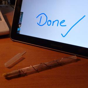 چه طور یک قلم استایلوس برای تبلت خود بسازیم