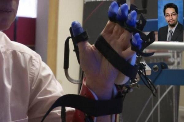 یک محقق ایرانی موفق به ساخت دستکش رباتیک شد