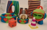 تولید چاپگر های سه بعدی چند رنگی