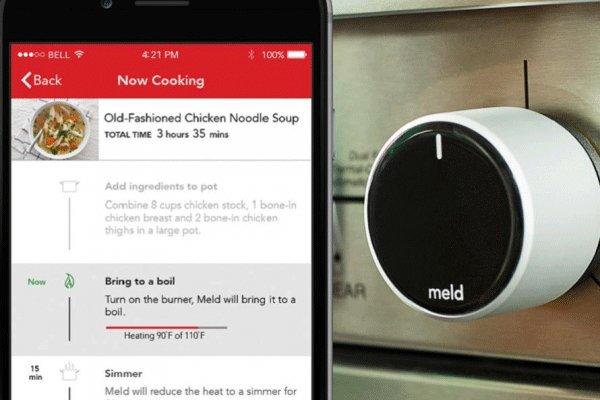 به کارگیری گجت هوشمند در عرصه ی آشپزی