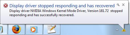 حل مشکلات ویندوز : بررسی خطای Display driver stopped responding