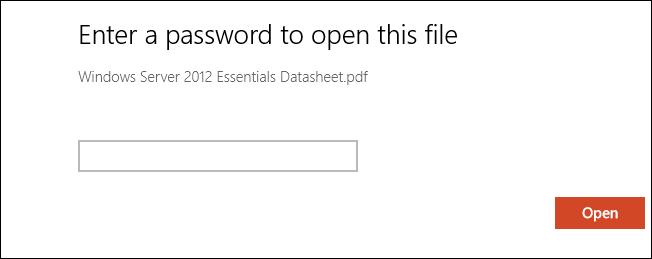 گذاشتن رمز عبور بر روی فایل های PDF در Word 2013