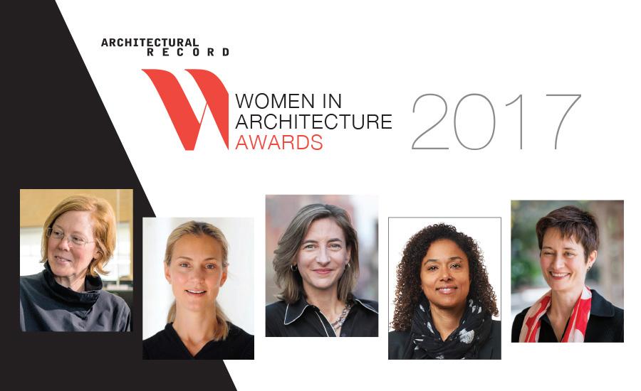 زنان پیشروی معماری در سال 2017 معرفی شدند