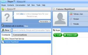 Acount me to Skype