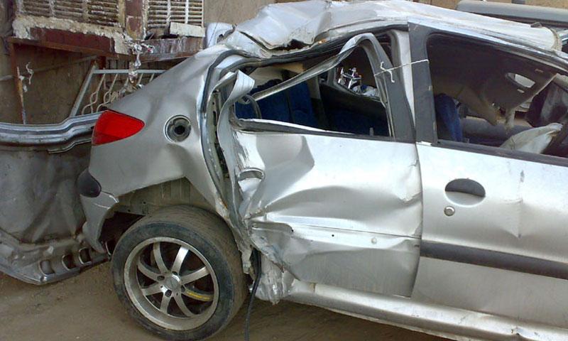 چگونه خودروی تصادفی را تشخیص دهیم؟