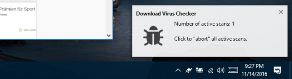 Download Virus Checker