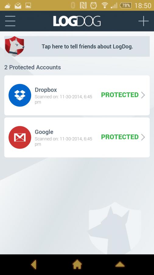 با LogDog حریم خصوصی شما در برابر نفوذ و هک ایمن خواهد بود