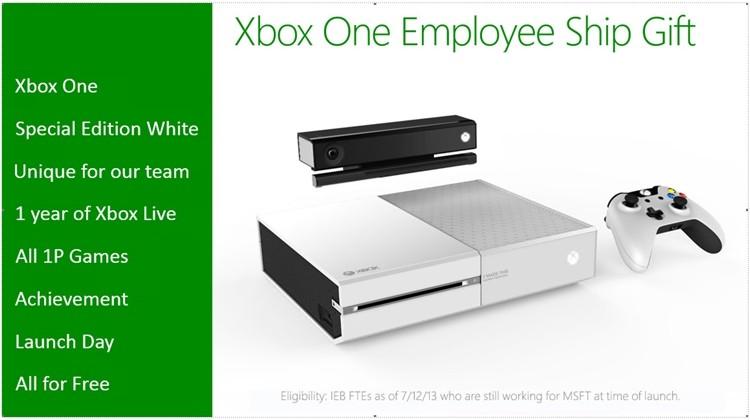 ورژن سفید Xbox One فقط برای کارکنان مایکروسافت