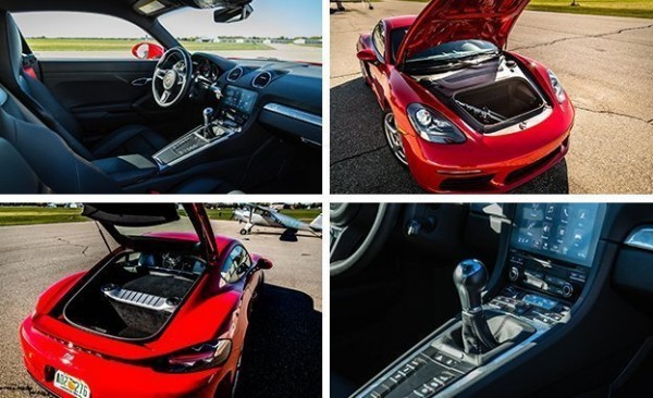 پورشه 718 کایمن مدل 2017