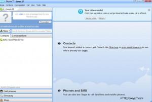 Menu Gooya IT To Skype